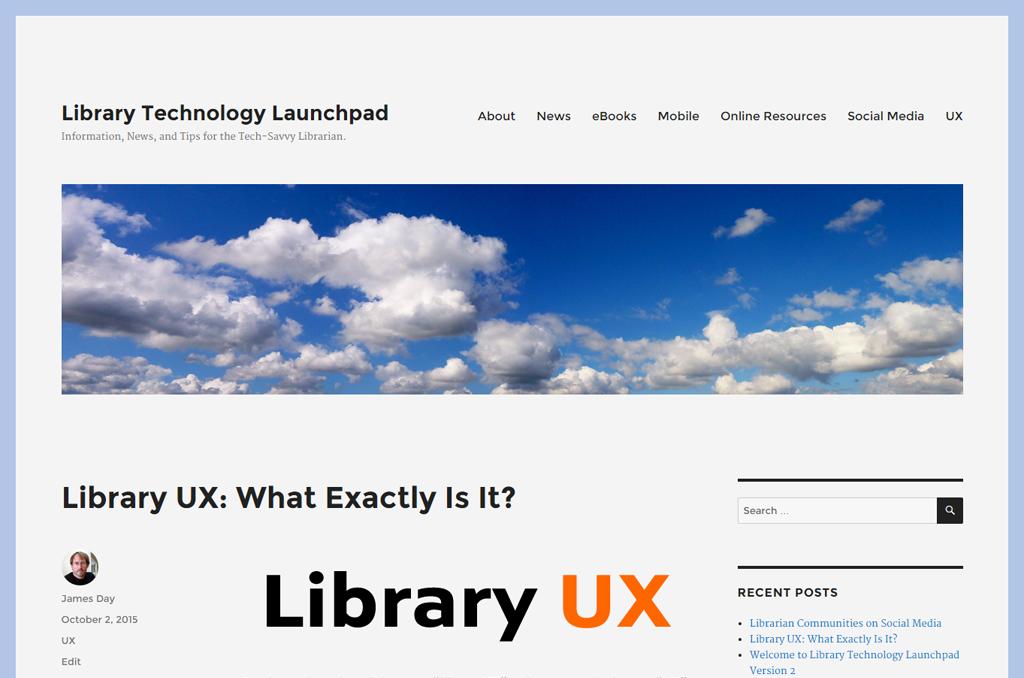 Library Technology Launchpad